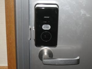 インターロック施錠