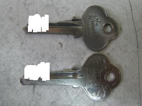 ヤマハ 新旧の鍵
