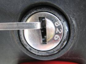 Givi 鍵穴