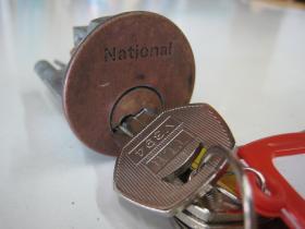 ナショナル 鍵完成