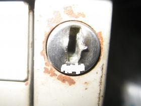 コクヨ 鍵穴
