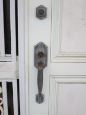 ウエスト WEST 玄関錠 ケース交換(西原町)