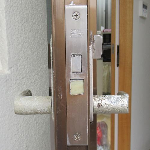 ベルエアのレバー錠のケースフロント GOAL TTX