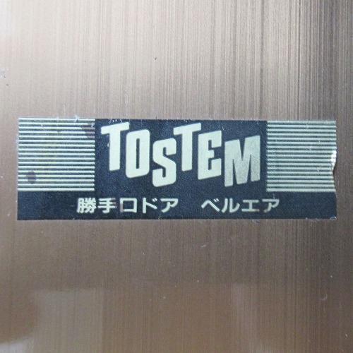 トステム TOSTEM 勝手口ドア ベルエア ステッカー
