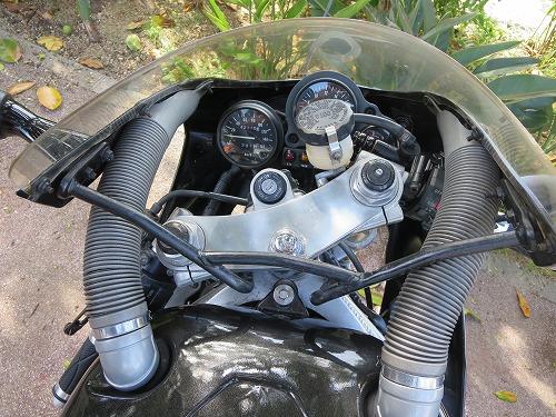 ZXR400 メーター周り