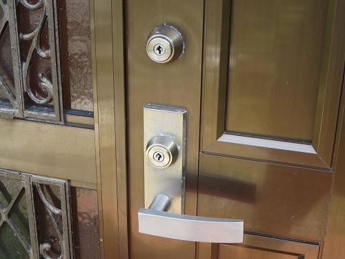玄関ドア 美和ロック ディスクシリンダー
