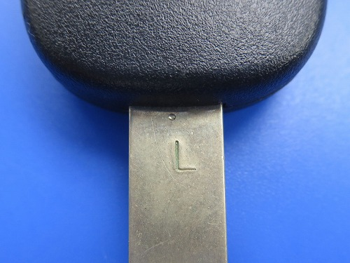 フィット 既存の鍵にL刻印