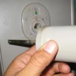 OMNI トイレ・浴室表示錠を交換(宜野湾市)