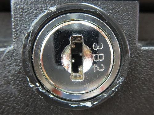 SentrySafe 1170 鍵穴アップ