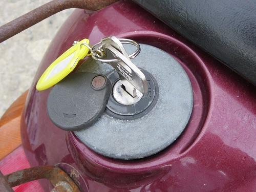 アプリオ ガソリンキャップ 鍵完成