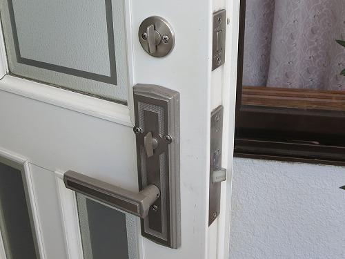 玄関ドア 室内側