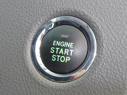 マークX Zio エンジンスタートボタン