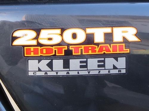 カワサキ 250TR HOT TRAIL ロゴ