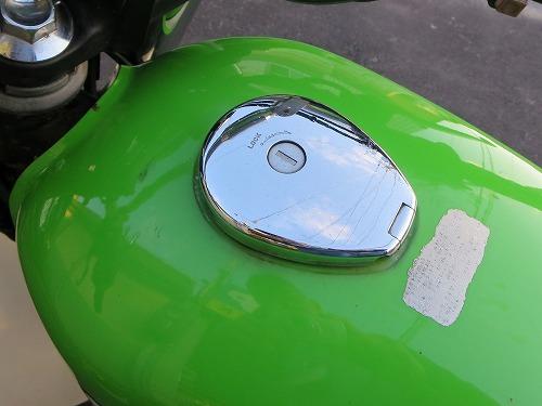 カワサキ 250TR ガソリンキャップ
