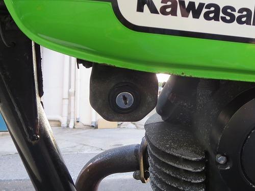 カワサキ 250TR イグニッション