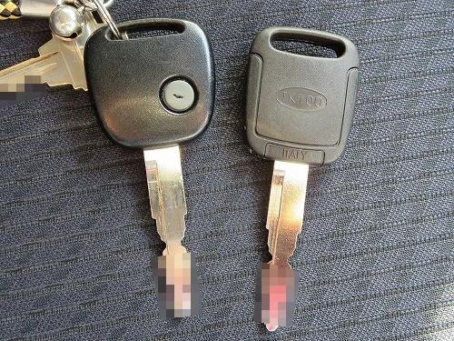 ワゴンR イモビライザー付 合鍵 完成