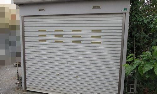 物置 ガレージ INABA INB 鍵なくした 紛失鍵作製 宜野湾市