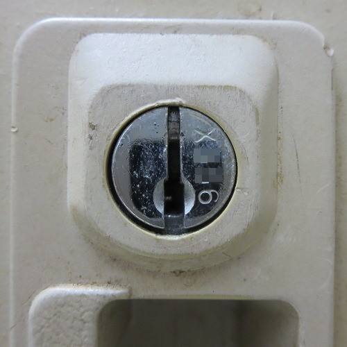鍵穴の刻印 X 数字3桁