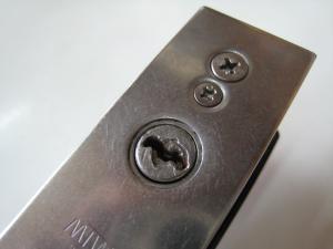 ミワ 引違戸錠 部品交換