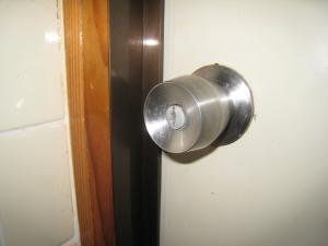 浴室円筒錠