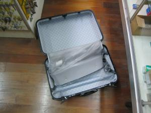 スーツケース 開錠