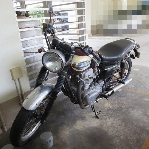 カワサキ バイク W650 鍵なくした 紛失鍵作製