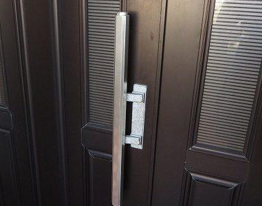 玄関ドア プッシュプルバーハンドル GOAL PY ケース交換 宜野湾市