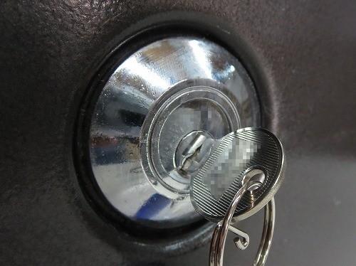 ダイヤルなし金庫の鍵完成
