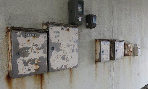 アパートの分電盤のカギ 交換 宜野湾市