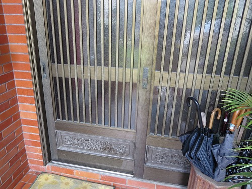 玄関の引戸 引違戸