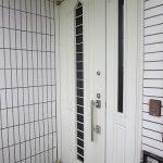 玄関ドア TOSTEM トーヨーサッシ ポルテ23 GOAL TGP QDA342 ケース交換 宜野湾市