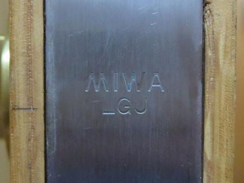 フロント刻印 MIWA LGJ