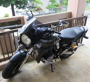 スズキ バイク GSX 1200 INAZUMA 紛失鍵作製(沖縄市)