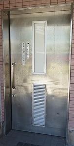 トイレの引戸錠 交換(宜野湾市)