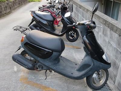 ヤマハ バイク ジョグ JOGの鍵をなくした 紛失鍵作製 宜野湾市