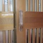 玄関のカギ MIWA SL94 引戸 引違戸錠 修理 中城村