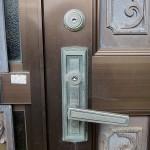 玄関ドアのシリンダーを交換 MIWA TESP LZSP 宜野湾市