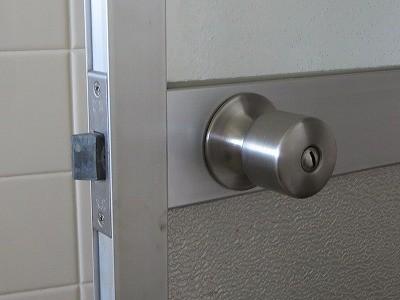 浴室のノブ・レバー錠の交換 宜野湾市