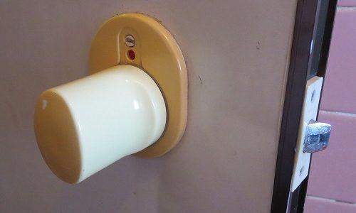 浴室のノブ錠 OMNI 交換 北谷町