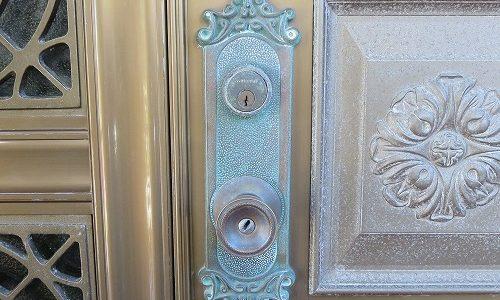 一戸建玄関ドアのノブ交換 宜野湾市