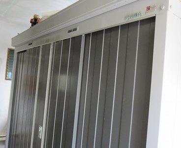 物置 イナバ NXN 鍵なくした 紛失鍵作製 沖縄市