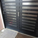 玄関の引戸(引違戸)のカギ交換 宜野湾市