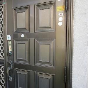 玄関ドア トーヨーサッシ ロイヤル BEST 鍵を作製 西原町