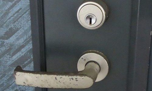 マンションの玄関ドア レバー錠 GOAL LG 交換 宜野湾市