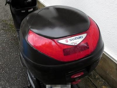 バイクのキャリアボックス リアケース GIVI 鍵なくした 紛失鍵作製 沖縄市