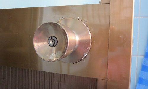 浴室のノブ MIWA 100BMA 交換 宜野湾市